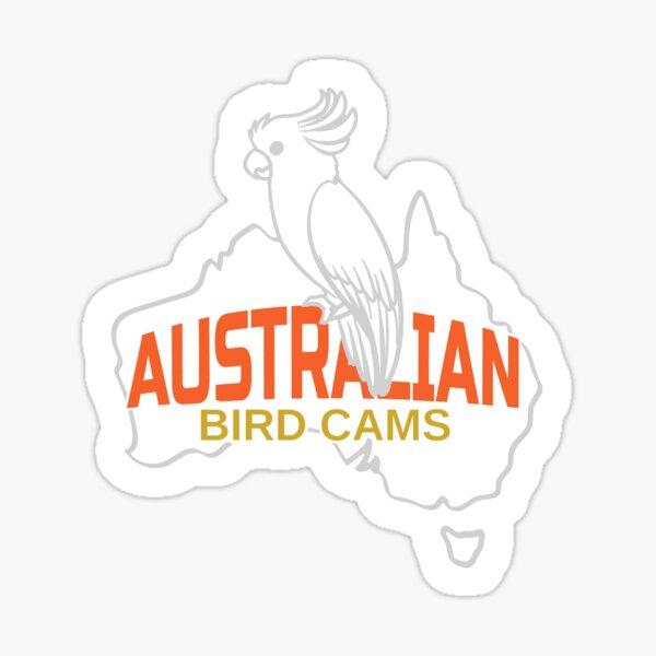 Australian Bird Cams Logo Sticker