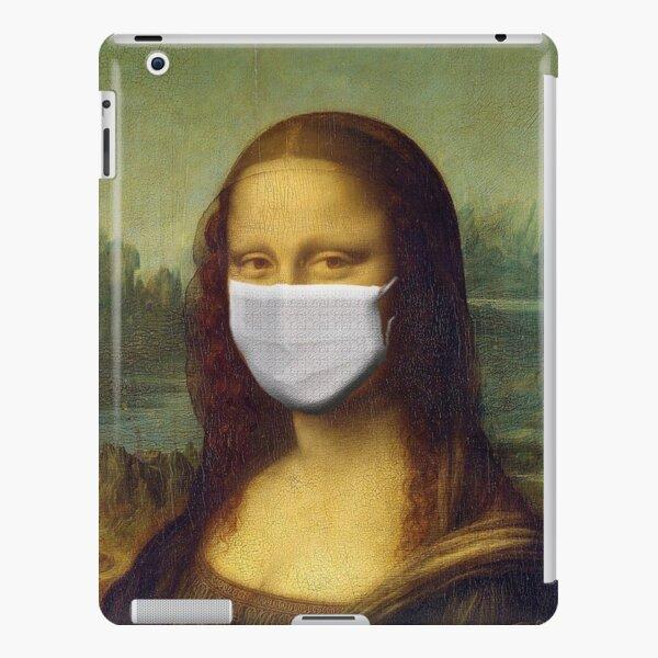 Mona Lisa Portrait Covid 19 by Leonardo da Vinci Italian Renaissance with Face Mask Coronavirus  iPad Snap Case