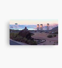 Lake View Drive Canvas Print