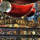 Apple Market Horizontal by Jasna