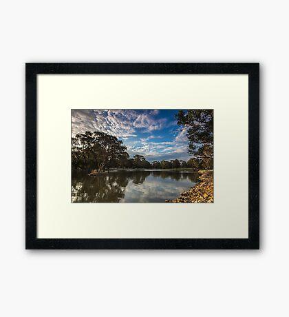 Sunset Approaching Framed Print