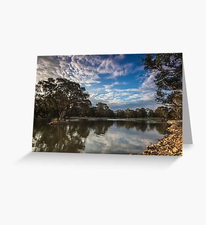 Sunset Approaching Greeting Card