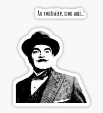 Hercule Poirot Sticker