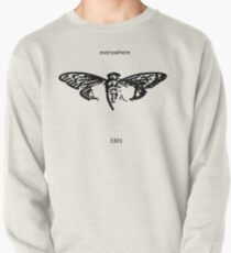 Cicada 3301 everywhere black Pullover