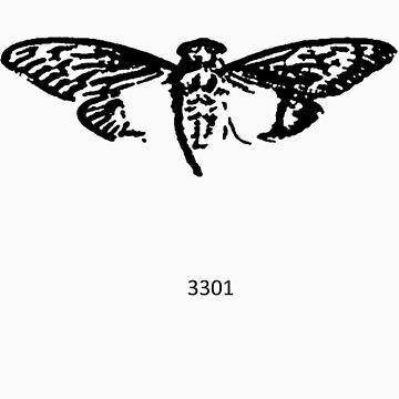 Cicada 3301 everywhere black by 3301