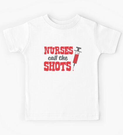 Nurses Call The Shots Kids Clothes