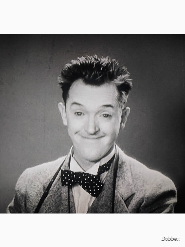 "Stan Laurel, ""Pardon Us"" 1931 by Bobbex"