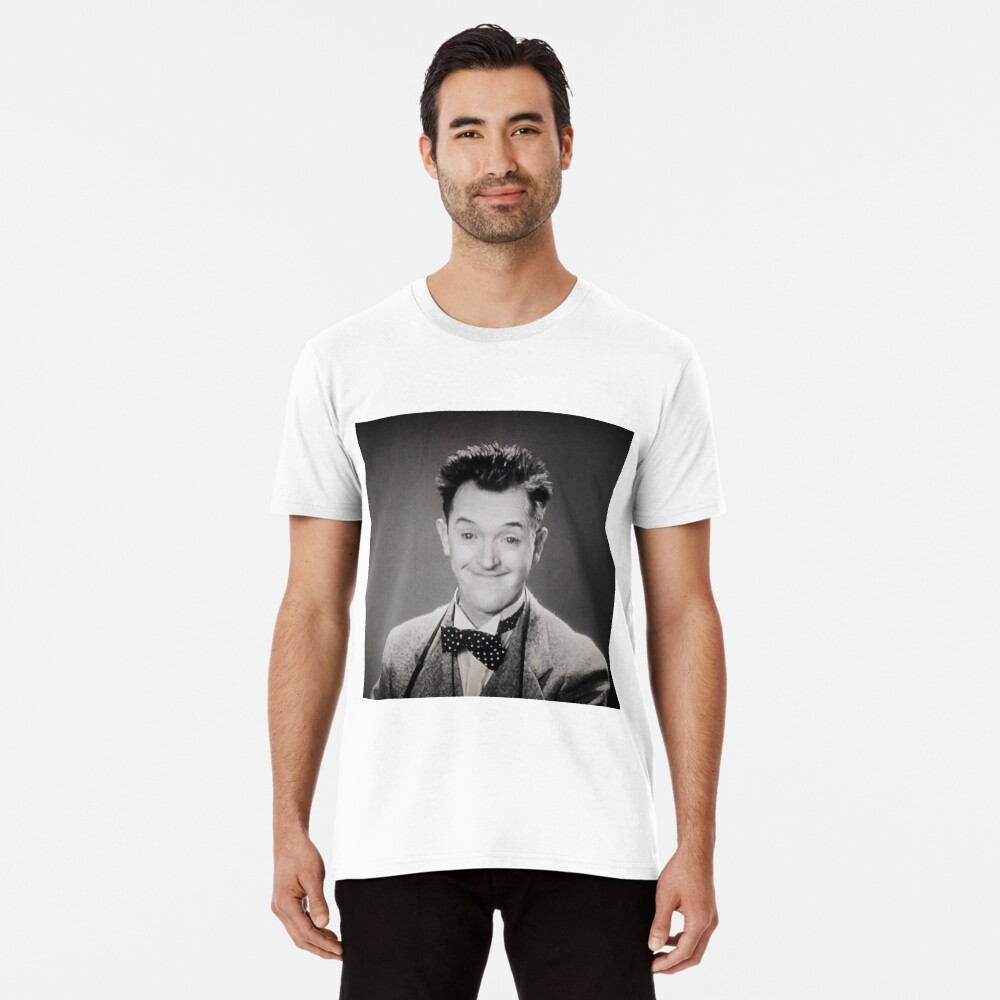 "Stan Laurel, ""Pardon Us"" 1931 Premium T-Shirt"