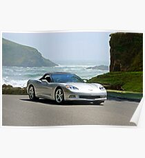 2005 Corvette Convertible Poster