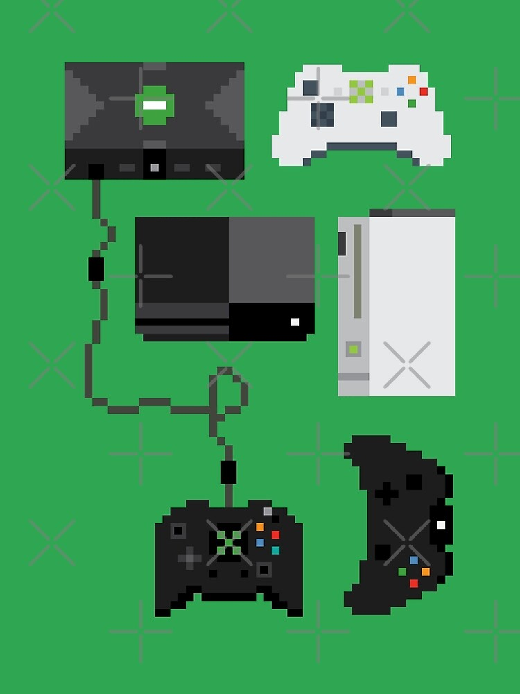 Pixel History - Xbox by The World Of Pootermobile