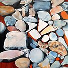 Sea Rocks by Lori Elaine Campbell