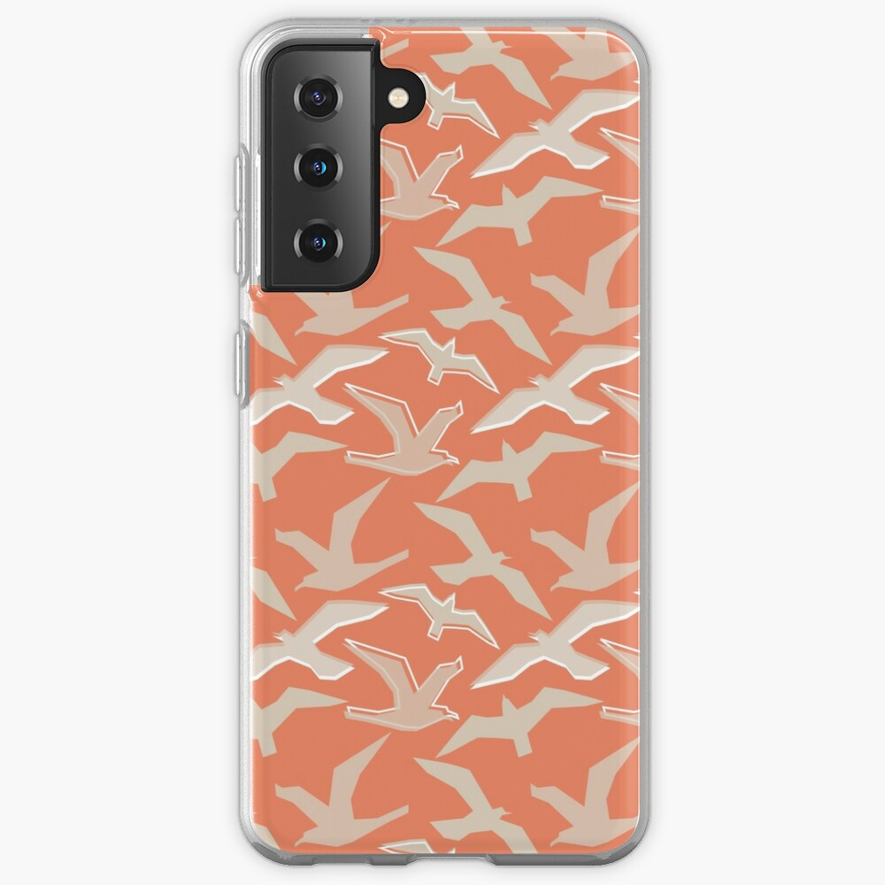 Seagull Silhouettes Case & Skin for Samsung Galaxy