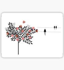 Swallows In Love Sticker