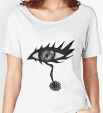 Doodle Spike Eye Women's Relaxed Fit T-Shirt