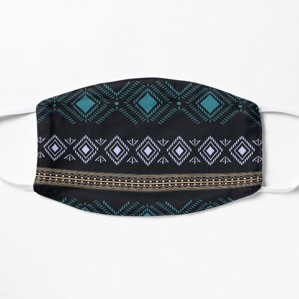Tatouage Kabyle Geometric Motif Pattern  Masque sans plis