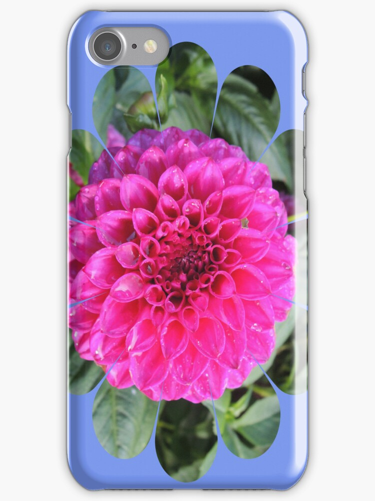 Bright Flower Iphone case by CreativeEm
