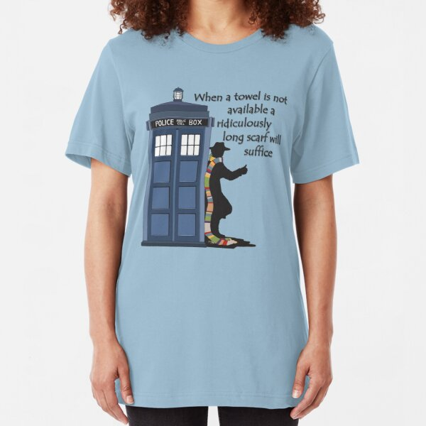 Hitch-hiking Doctor Slim Fit T-Shirt
