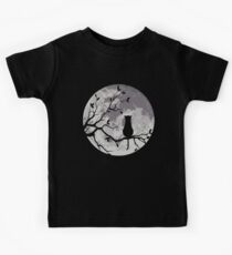 The Cat And The Moon Kids Clothes