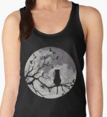 Le chat et la lune Débardeur femme