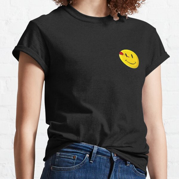 Watchmen Smiley Symbol Classic T-Shirt
