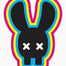 Rabbit Skull Black Version by jugend-blitz