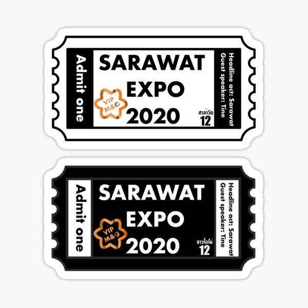 2gether - entradas para la expo de Sarawat Pegatina