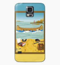 Phone case: Canoeing to Moonrise Kingdom Case/Skin for Samsung Galaxy