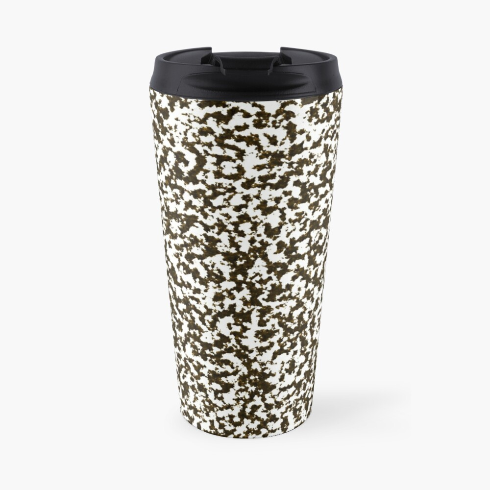 Corroded metal,rust stains Travel Mug