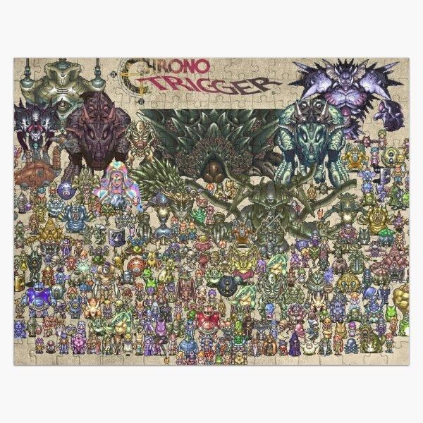Chrono Trigger Wallpaper Design Jigsaw Puzzle