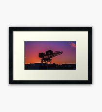 Cowes Hammerhead Framed Print