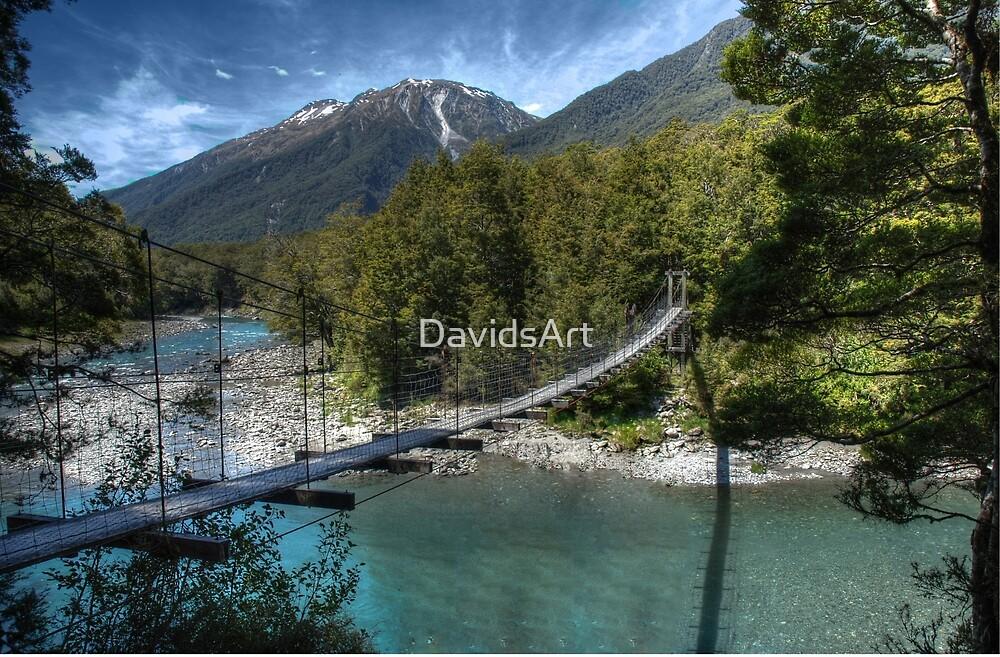 0090 Bullers Gorge Footbridge by DavidsArt