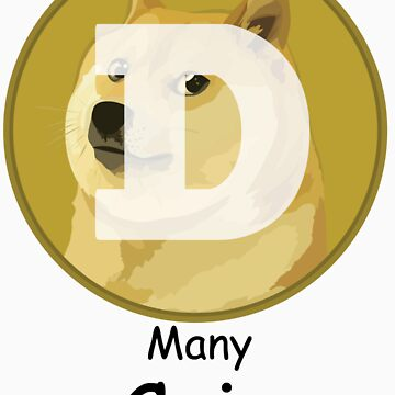 Dogecoin Many Coin! by Tombe-Stone