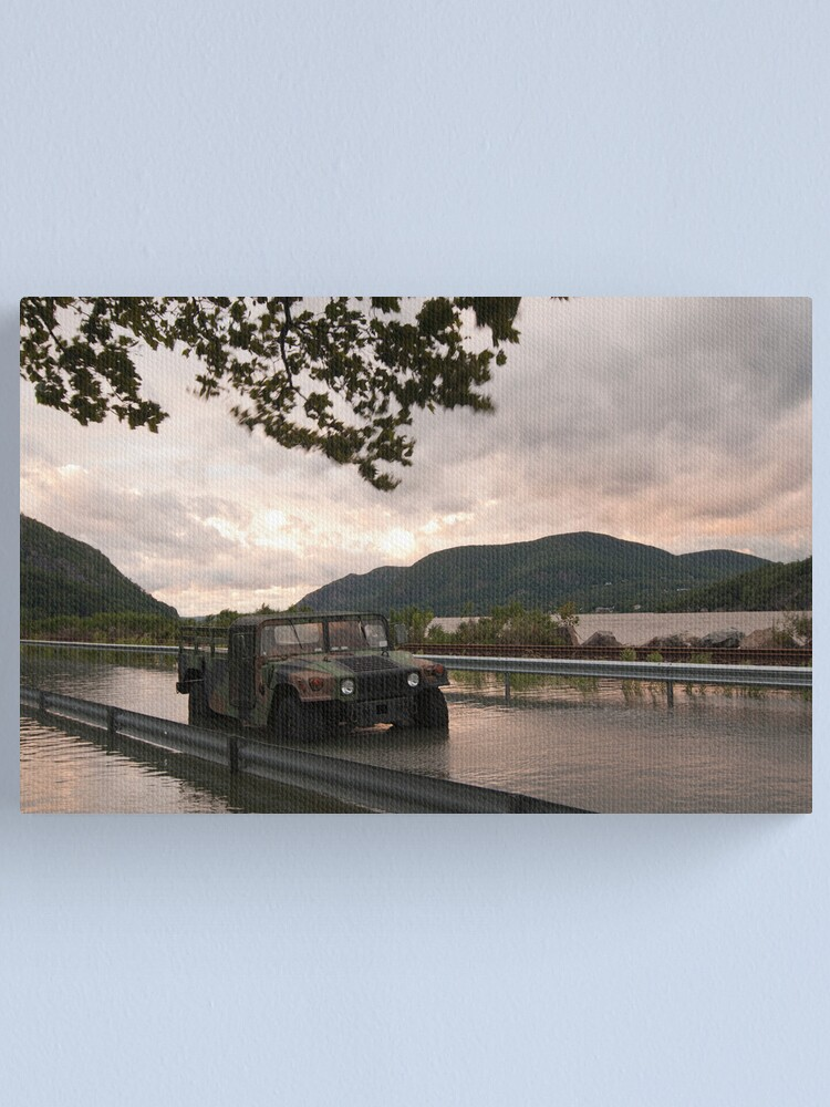 Alternate view of USMA - West Point - After Hurricane Irene Canvas Print