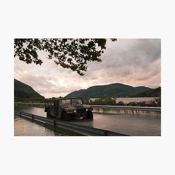 USMA - West Point - After Hurricane Irene Photographic Print