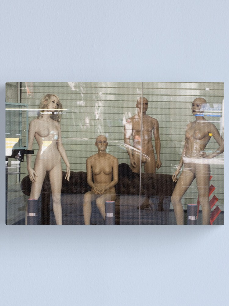 Alternate view of Naked Manikins Canvas Print