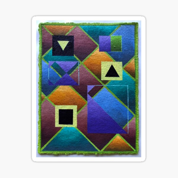 Abstract Vessels Sticker