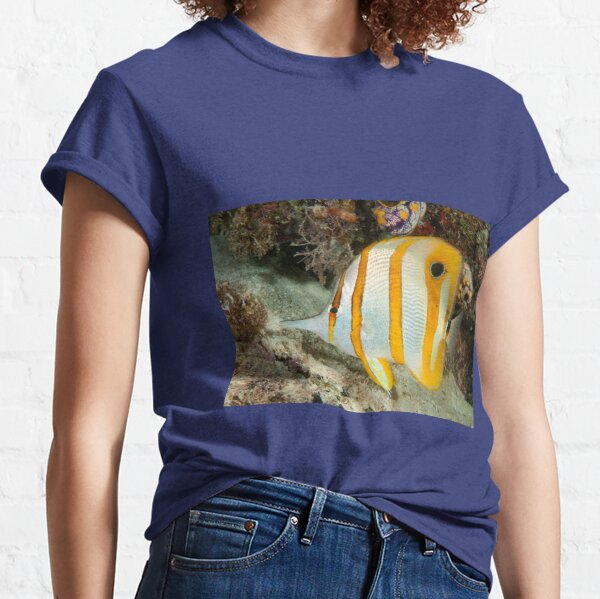 Beaked Coralfish, Kapalai, Sabah, Malaysia Classic T-Shirt