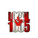 Local 1005 Canada Flag by Verbal72