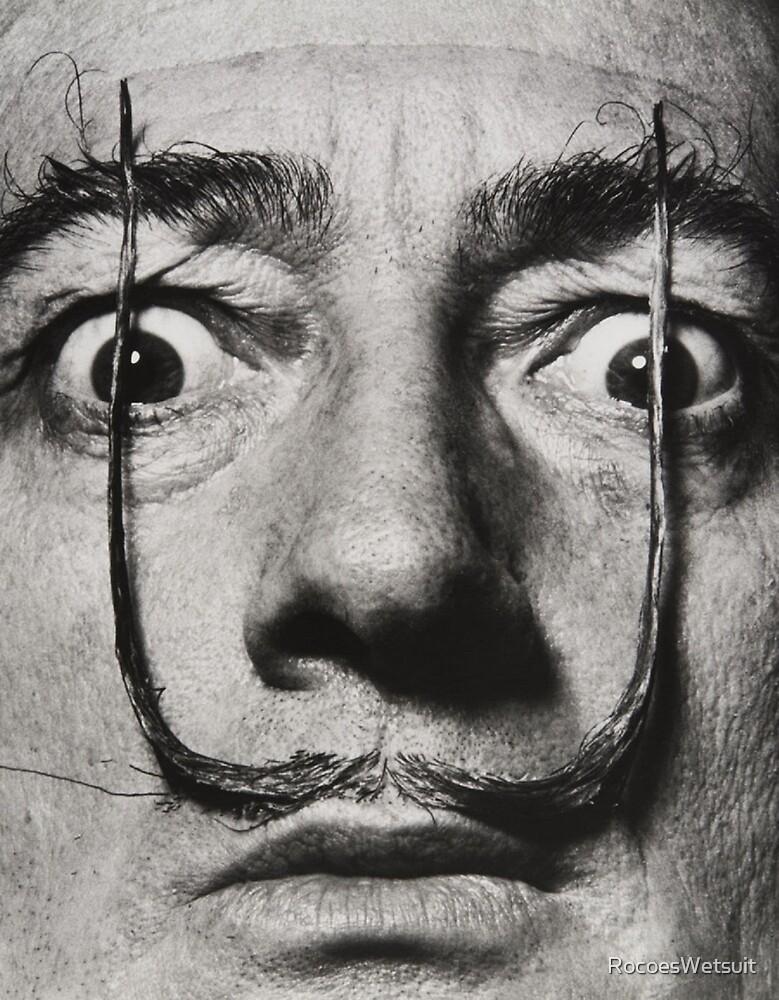 Salvador Dali  by RocoesWetsuit