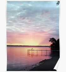 Lake Winnebago Sunrise Poster