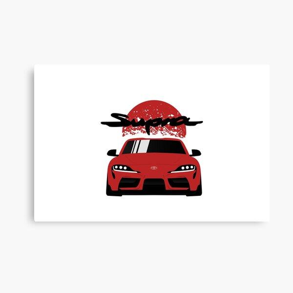 New Toyota Supra Canvas Print
