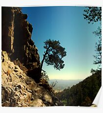 Rocky Cliff Gap Poster