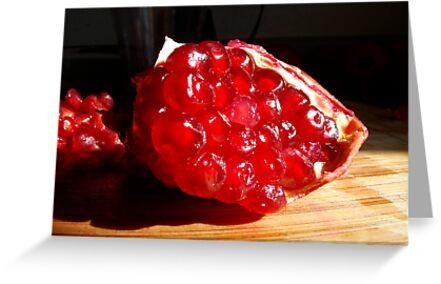 Pomegranate Slice by ptosis