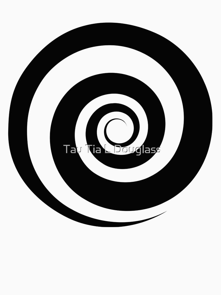 Funky Hypnotic Spiral Swirl by PurplePeacock