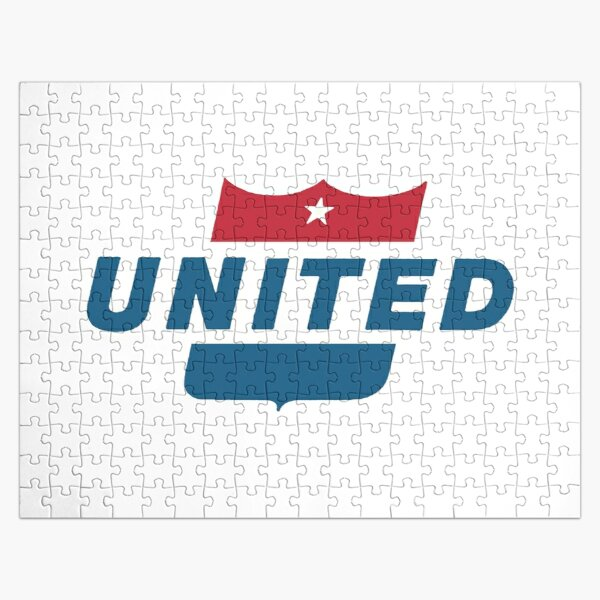 Vintage United Airlines USA Jigsaw Puzzle