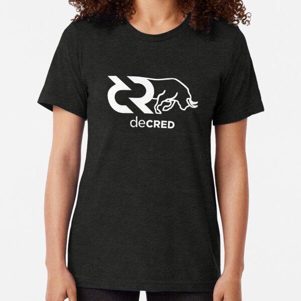 Decred Bull v1 Tri-blend T-Shirt