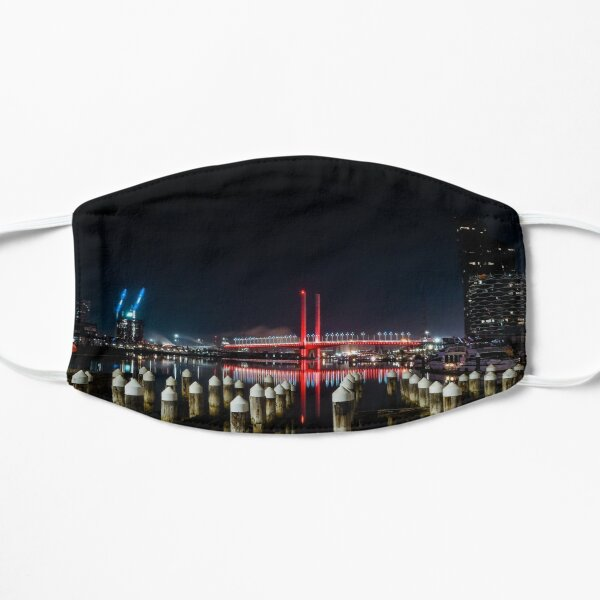 Bolte Bridge Melbourne Docklands Flat Mask