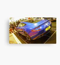 Aston Martin Vanquish Canvas Print