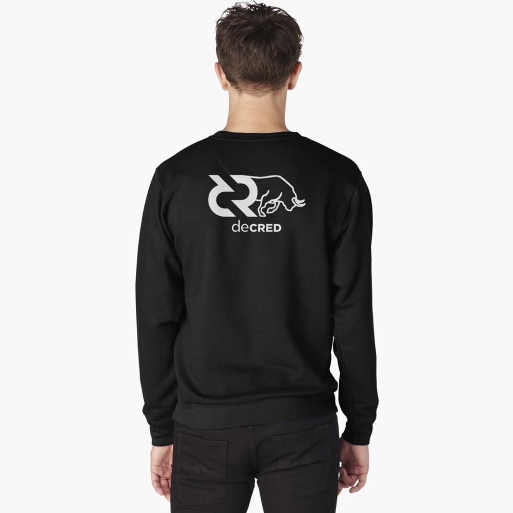 Decred Bull hoodie ™ 'Design timestamped by https://timestamp.decred.org/' Pullover Sweatshirt