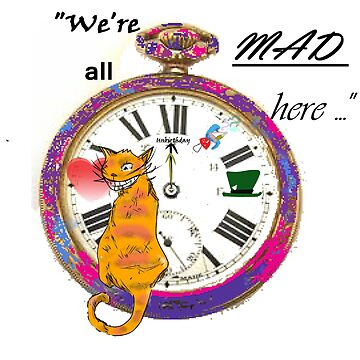"""""""We're all mad here"""" by lilfimodragon"""